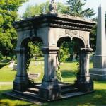 Tudor Gothic 1875, Riverside Cemetery Oswego NY